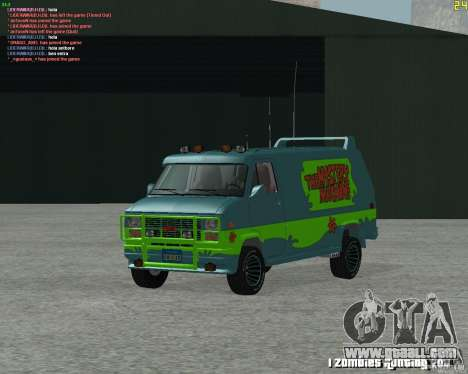 GMC Van 1983 for GTA San Andreas left view