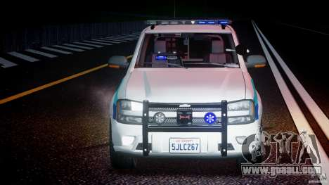 Chevrolet Trailblazer Police V1.5PD [ELS] for GTA 4 upper view
