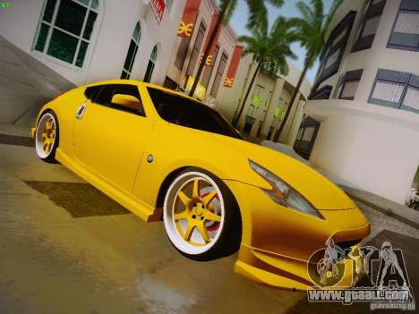 Nissan 370Z Fatlace for GTA San Andreas right view