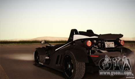 KTM-X-Bow for GTA San Andreas upper view