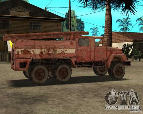 ZIL 131 for GTA San Andreas right view