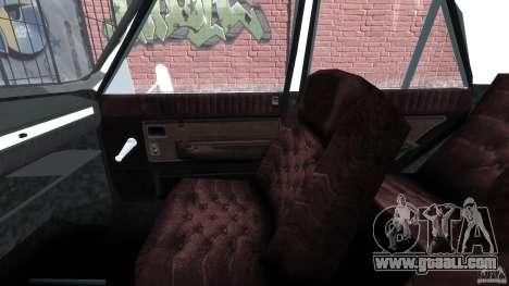 Peykan 1348 1970 for GTA 4 inner view