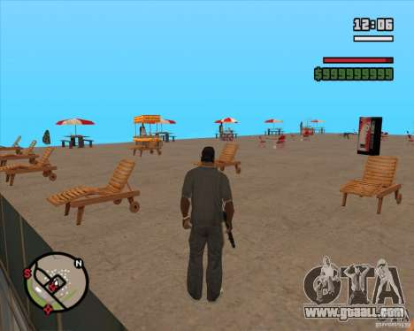CJ-Mayor for GTA San Andreas third screenshot