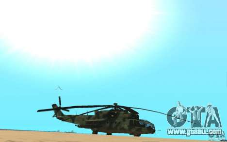 MI-24A for GTA San Andreas right view