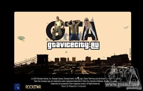 GTAViciCity.RU LoadScreens for GTA San Andreas