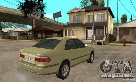 MAZDA 626 GF Sedan for GTA San Andreas right view