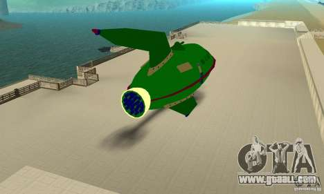 Planet Express for GTA San Andreas right view