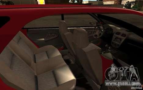 Subaru Impreza WRX Wagon 2002 for GTA San Andreas side view