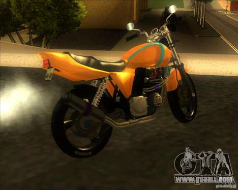 Yamaha XJR400 for GTA San Andreas left view