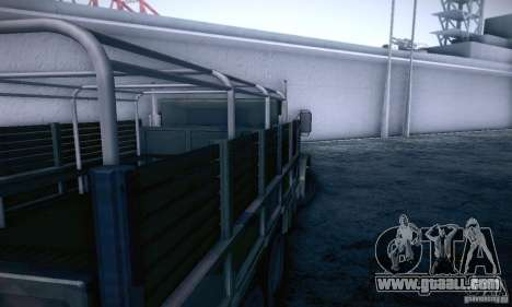 Barracks HD for GTA San Andreas right view