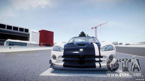 Dodge Viper SRT-10 ACR 2009 v2.0 [EPM] for GTA 4 bottom view