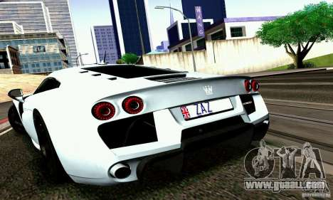Noble M600 2010 V1.0 for GTA San Andreas back view