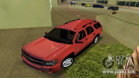 Chevrolet Tahoe 2011 for GTA Vice City left view