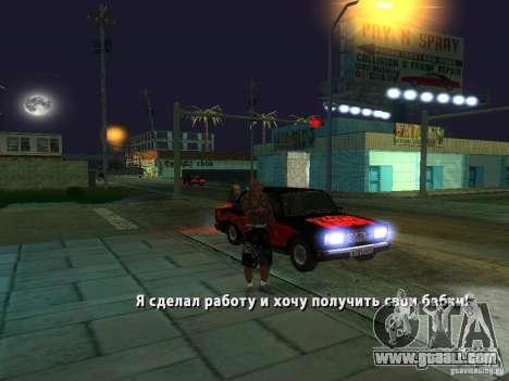 Killer Mod for GTA San Andreas seventh screenshot