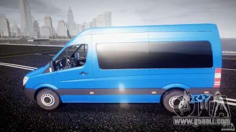 Mercedes-Benz ASM Sprinter Ambulance for GTA 4 left view