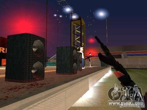 Concert of the AK-47 for GTA San Andreas fifth screenshot