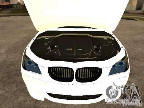 Bmw M5 Ls Ninja Stiil for GTA San Andreas right view