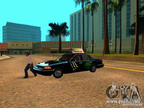 Ford Crown Victoria Taxi for GTA San Andreas right view