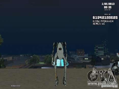 P-body for GTA San Andreas second screenshot