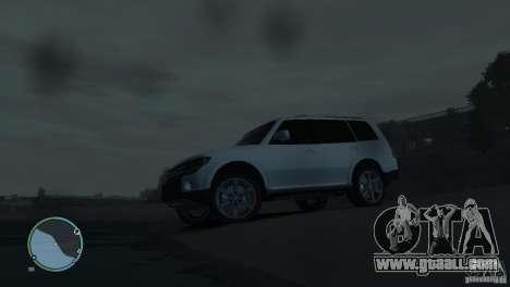 Mitsubishi Pajero Wagon for GTA 4 interior