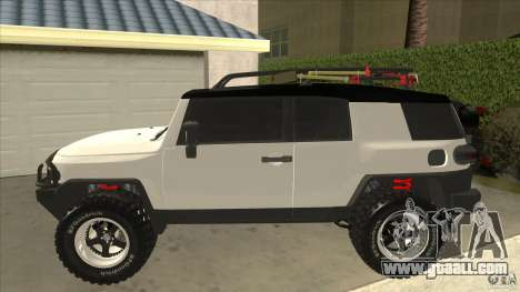 Toyota FJ Cruiser for GTA San Andreas left view