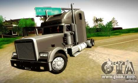 Freightliner Classic XL for GTA San Andreas