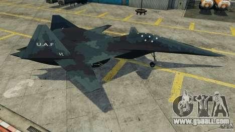 ADF-01 Falken for GTA 4 left view