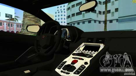 Lamborghini Aventador LP 700-4 for GTA Vice City left view