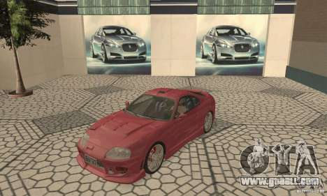 Toyota Supra Tunable 2 for GTA San Andreas left view