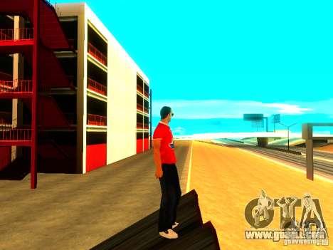 Skin reporter for GTA San Andreas forth screenshot