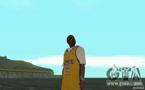 Afro-American HD skin for GTA San Andreas fifth screenshot