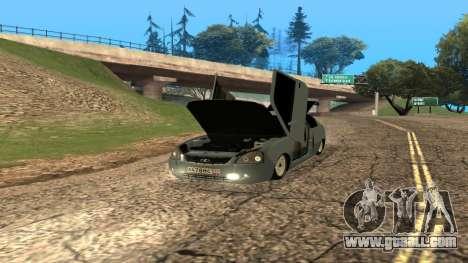 LADA Priora 2172 for GTA San Andreas