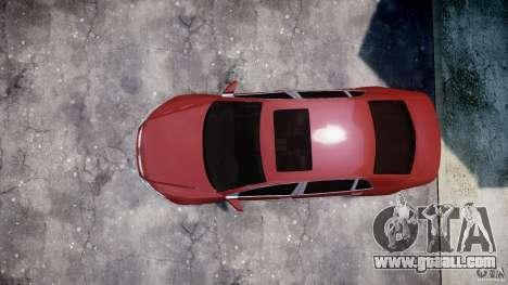 Volkswagen Pheaton W12 for GTA 4 back view
