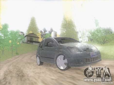 Citroen C2 for GTA San Andreas inner view