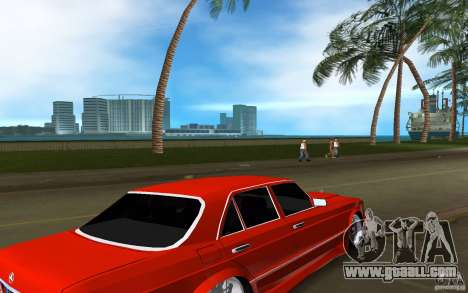 Mercedes-Benz W126 Wild Stile Edition for GTA Vice City right view