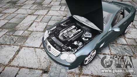 Mercedes Benz SL65 AMG V1.1 for GTA 4 back view