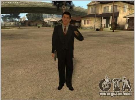 Skins La Cosa Nostra for GTA San Andreas second screenshot