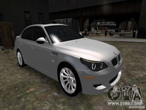 BMW M5 for GTA 4 right view