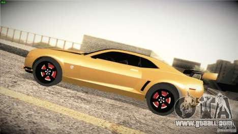 Chevrolet Camaro SS Transformers 3 for GTA San Andreas left view