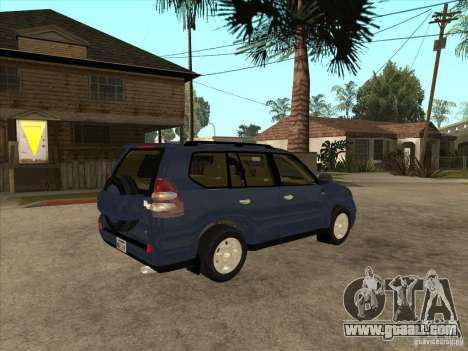Toyota Land Cruiser Prado for GTA San Andreas right view