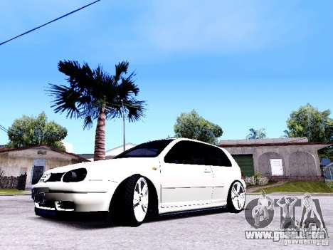 Volkswagen Golf MK4 for GTA San Andreas right view