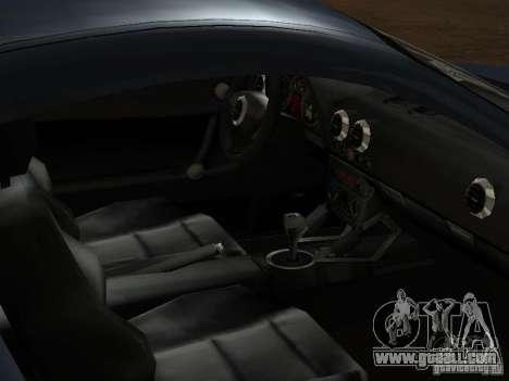 Audi TT 3.2 Quattro for GTA San Andreas bottom view