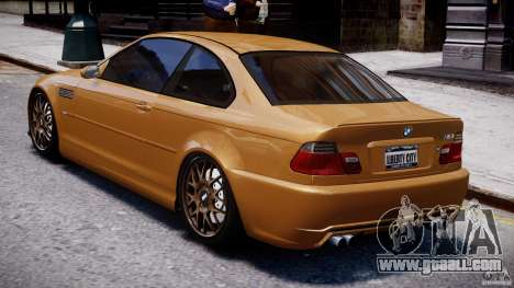 BMW M3 E46 Tuning 2001 v2.0 for GTA 4 back left view