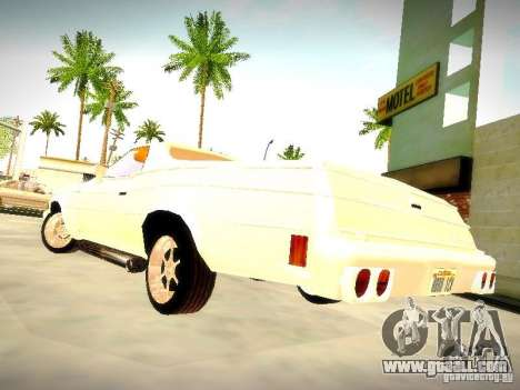 Chevrolet El Camino 1976 for GTA San Andreas back left view