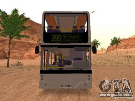 Volvo B7L for GTA San Andreas left view
