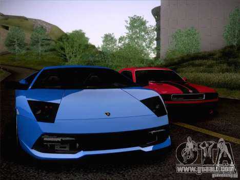 Lamborghini Murcielago LP640 for GTA San Andreas side view