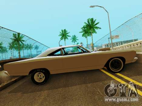 Plymouth GTX for GTA San Andreas left view