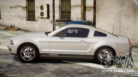 Ford Mustang V6 2010 Premium v1.0 for GTA 4 left view