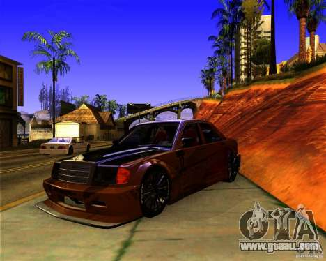 Mercedes Benz 190E - SpeedHunters Edition for GTA San Andreas