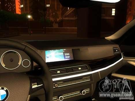 BMW 535i F10 for GTA San Andreas